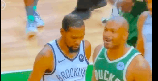 A security guard was trending after the Bucks-Nets game for coming in HOT to break up an altercation between Kevin Durant and PJ Tucker
