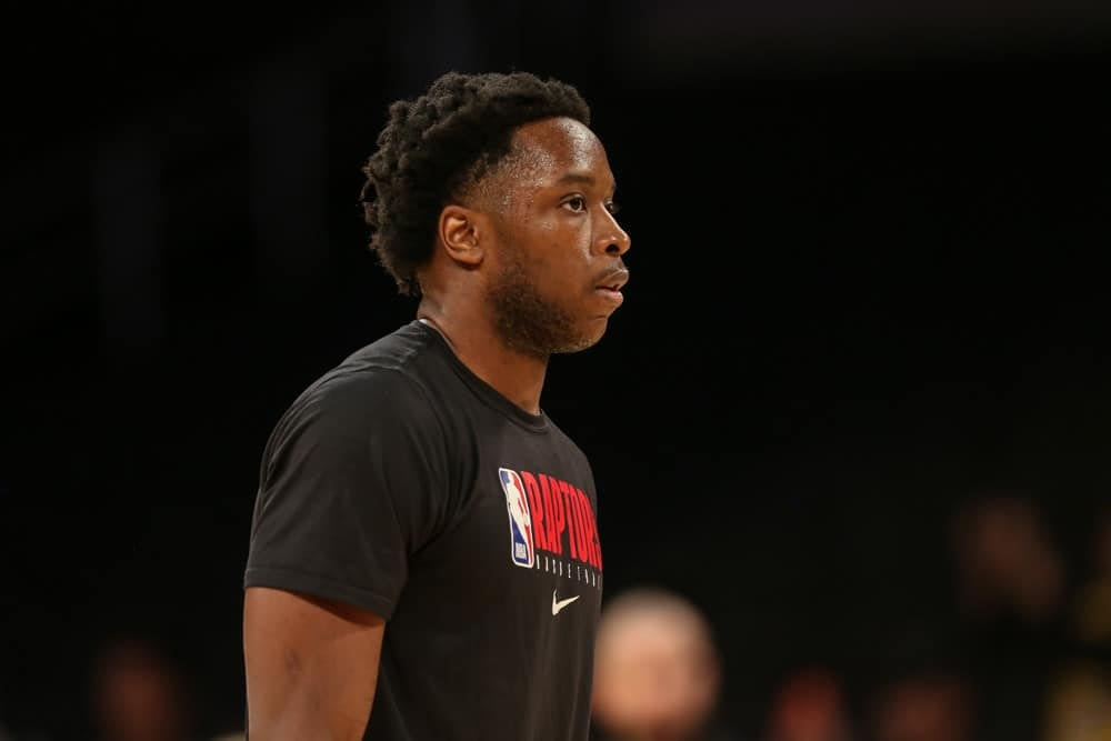DraftKings & FanDuel NBA Fantasy Projections and boom/bust tool with expert ownership OG Anunoby
