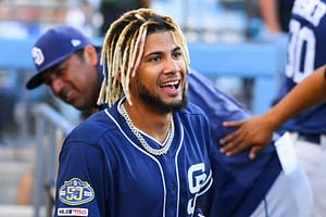 San Diego Padres superstar Fernando Tatis Jr. got a rise out of fans in Arizona when he answered a question about women asked by a fan mid-game