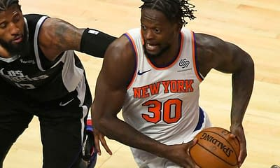 The best NBA DFS optimizer picks today for Yahoo, DraftKings & FanDuel daily fantasy basketball lineups | Julius Randle tonight 10/24/21