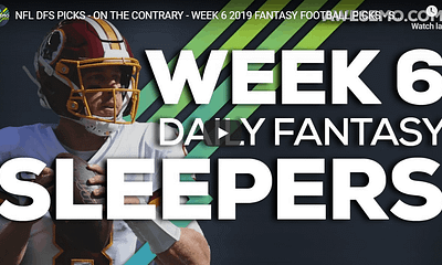 Chris Randone joins Alex 'Awesemo Baker and Chris Spags give out Week 5 NFL DFS Picks, Fantasy Football Sleepers for DraftKings & FanDuel