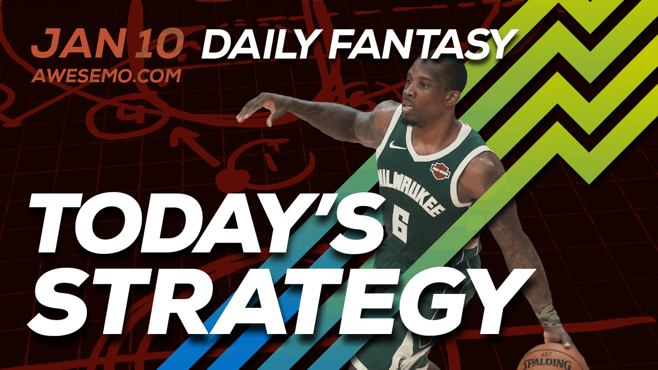 FREE Awesemo YouTube NBA DFS picks & content for daily fantasy lineups on DraftKings + FanDuel including Eric Bledsoe and more!