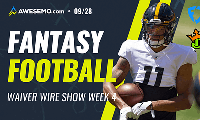 Kyle Dvorchak and Matt Gajewski give FREE fantasy football Week 4 waiver wire pickups for your fantasy teams | Chase Claypool + More | 9/28
