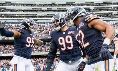 Free Week 7 Monday Night Football NFL picks + free NFL odds boosts to watch for the Rams vs Bears, including best bets based on boosts.