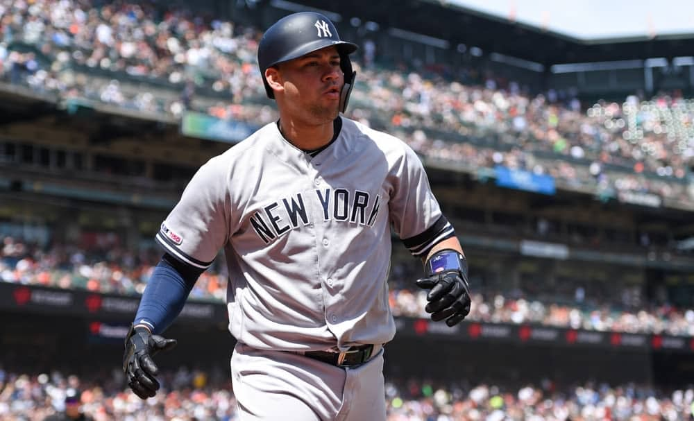FantasyDraft DFS MLB picks like Gary Sanchez for September 2 MLB DFS based on projections and ownership from the number 1 DFS player.