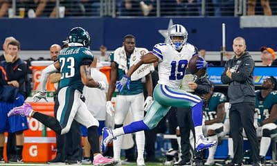 The ultimate free guide to making your Jock MKT NFL picks for Eagles vs. Cowboys Monday Night Football with expert IPO projections.