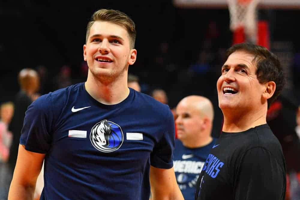 NBA DraftKings DFS Lineup PIcks cheat sheets for Tuesday May 4 featuring Luka Doncic based on expert projections and rankings
