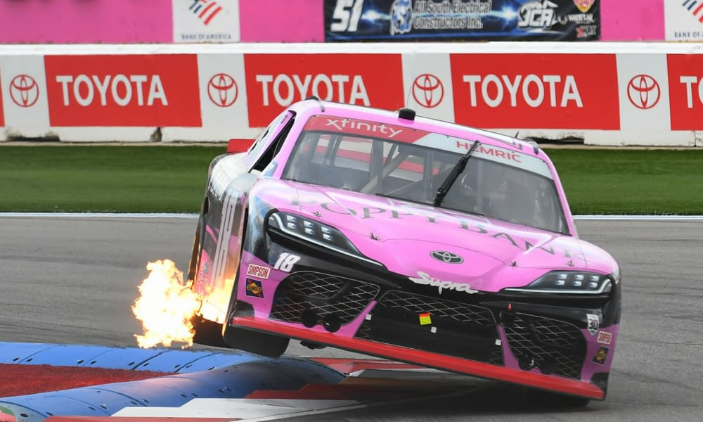 NASCAR DFS picks DraftKings Xfinity Kansas Lottery 300 today tonight this week Daniel Hemric free expert rankings projections ownership optimal lineup optimizer plays best bets betting lines odds predictions