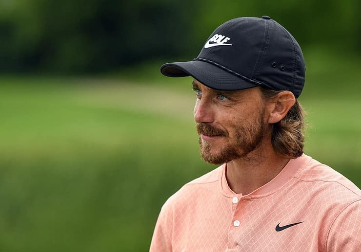 DraftKings & FanDuel PGA DFS Picks at RBC Heritage daily fantasy golf lineups with tournament and GPP ownership projections featuring Tommy Fleetwood