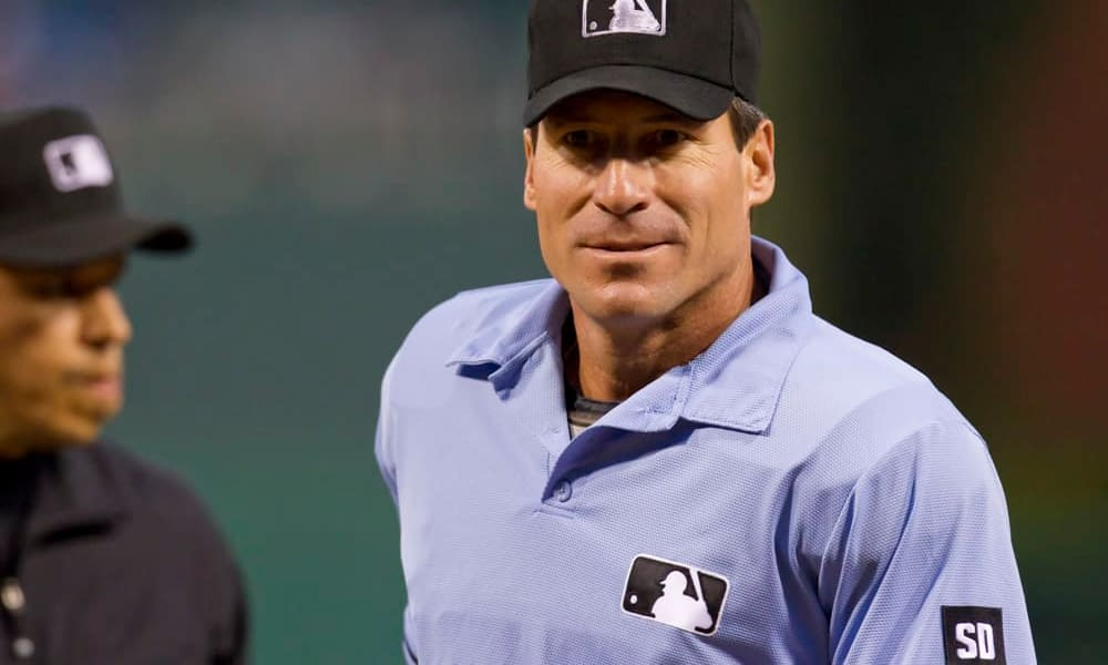 MLB fans everywhere were up-in-arms after it was announced that especially-awful umpire Angel Hernandez would be on the crew for the NLDS