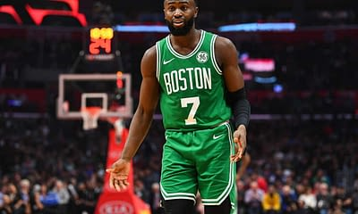 NBA Yahoo Picks DFS daily fantasy basketball cheat sheet on Saturday April 17 with Jaylen Brown
