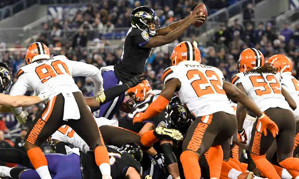 NFL DFS Picks: Josh Engelman breaks down the Monday Night Football Chiefs vs. Ravens DraftKings Showdown | Lamar Jackson + Patrick Mahomes
