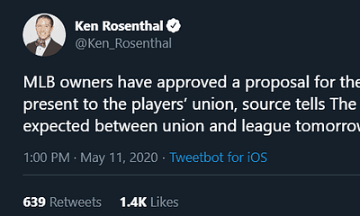 The MLB owners have approved a proposal for the 2020 MLB season to present to the players' union + universal DH and more!