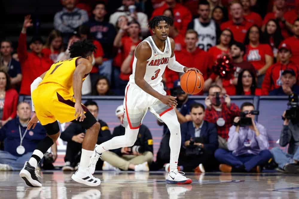 Ben Rasa breaks down the College Basketball CBB DFS slate for DraftKings Thursday, Jan. 9 and gives out his college betting picks ATS