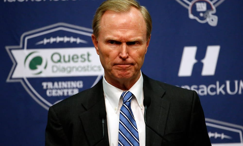 New York Giants owner John Mara was one of many owners who decided it was time to crack down on taunting around the NFL, and his explanation wasn't the best