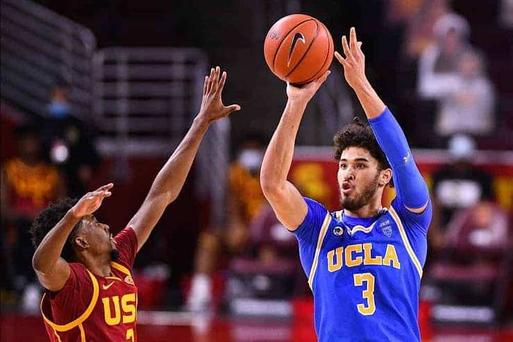 March Madness Best Bets UCLA vs BYU Johnny Juzang East Region Round 1 NCAA Tournament
