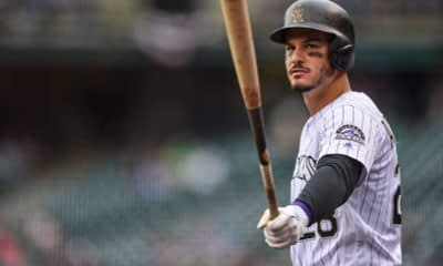 DraftKings DFS MLB DFS picks like Nolan Arenado for the August 4 MLB DFS slate based on projections and ownership from the #1 DFS player.