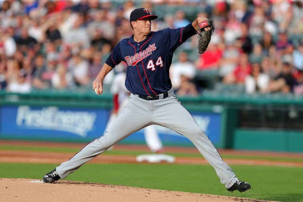 FanDuel DFS MLB picks like Kyle Gibson for September 19 MLB DFS based on projections and ownership from the number 1 DFS player.