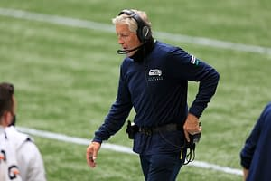 Seattle Seahawks head coach Pete Carroll shows his age with an incredibly on-brand response to the DK Metcalfe-ShannonSharpe Twitter feud