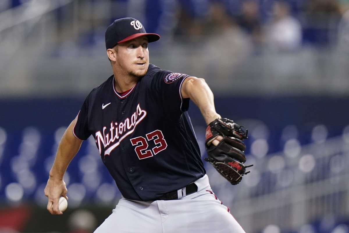 The best free expert MLB bets today with Las Vegas betting odds and picks like Erick Fedde OVER 4.5 strikeouts +120 on Thursday, Sept. 9 2021