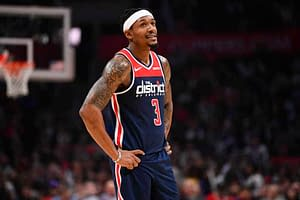 NBA DFS DraftKings FanDuel today tonight lineup optimal optimizer daily fantasy basketball injury report starting lineups stacks projections ownership rankings free expert advice tips strategy prop bets player props Wizards Bradley Beal