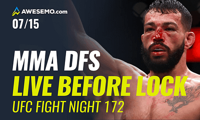 The MMA DFS Live Before Lock Show for UFC Fight Night: Kattar vs. Ige. Top options for your UFC DFS Lineups on DraftKings, FanDuel.
