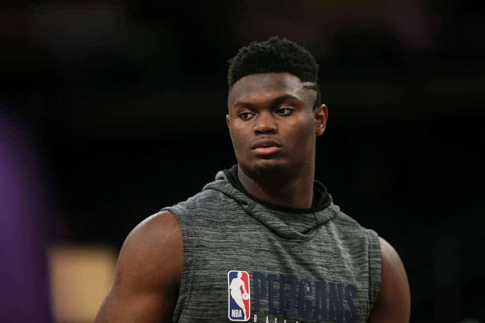 Zion Williamson is only a rookie but he's a bonafide star in the NBA, and video games drool over him. Which is why he's a cover boy for NBA 2K