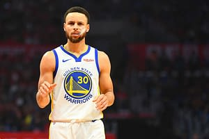 DraftKings & FanDuel NBA Daily fantasy picks for DFS basketball lineups on Friday April 9 with Stephen Curry based on Awesemo's expert projections, rankings and values