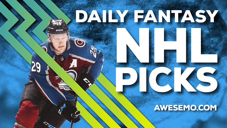Awesemo's NHL DFS Strategy show breaks down the top DraftKings & FanDuel NHL picks for today's slate, including Nathan MacKinnon and more!