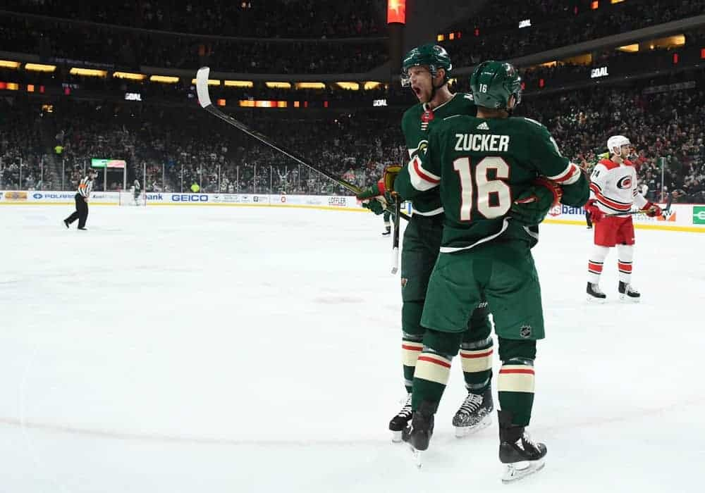NHL betting picks tonight for Kings vs Wild on Tuesday February 16 2021 with the best bet of the day