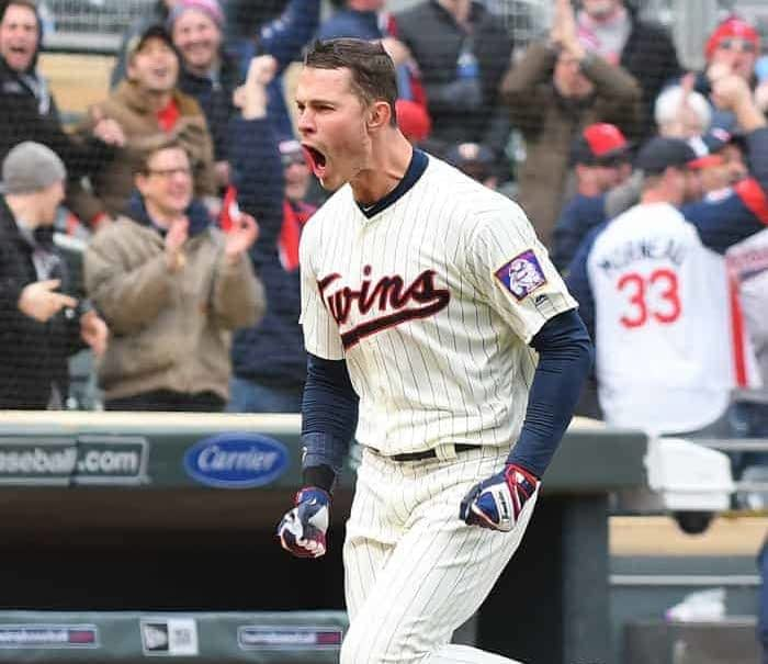 Yahoo DFS MLB picks like Max Kepler for October 7 MLB DFS based on projections and ownership from the number 1 DFS player.