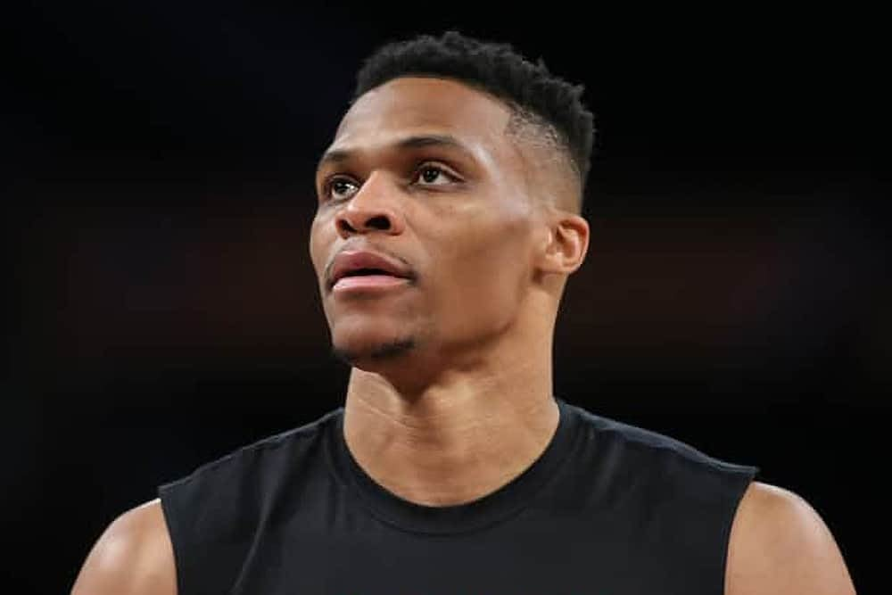 NBA DraftKings Lineup PIcks Top 5 DFS rankings from Josh Engleman's ConTENders with Russell Westbrook