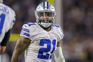 The best NFL DFS Showdown Picks for Week 3 Monday Night Football Cowboys vs. Eagles single game contests using expert projections & rankings.