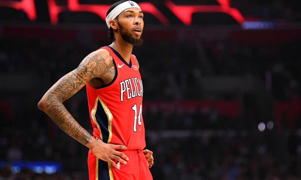 NBA Yahoo Picks DFS Cheat Sheet daily fantasy lineups featuring brandon ingram saturday january 23 2021 based on expert projections and ownerhsip