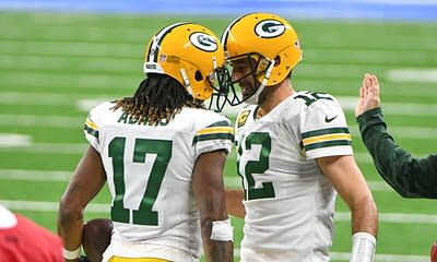 Week 6 NFL DFS picks DraftKings FanDuel plays optimal lineup optimizer free expert advice tips projections rankings tools premium data Packers Aaron Rodgers Davante Adams daily fantasy football best bets odds lines predictions parlays how to bet on NFL