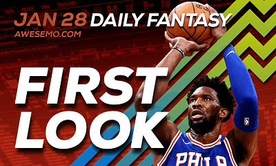 FREE Awesemo YouTube NBA DFS picks & content for daily fantasy lineups on DraftKings + FanDuel with Joel Embiid, Luka Doncic