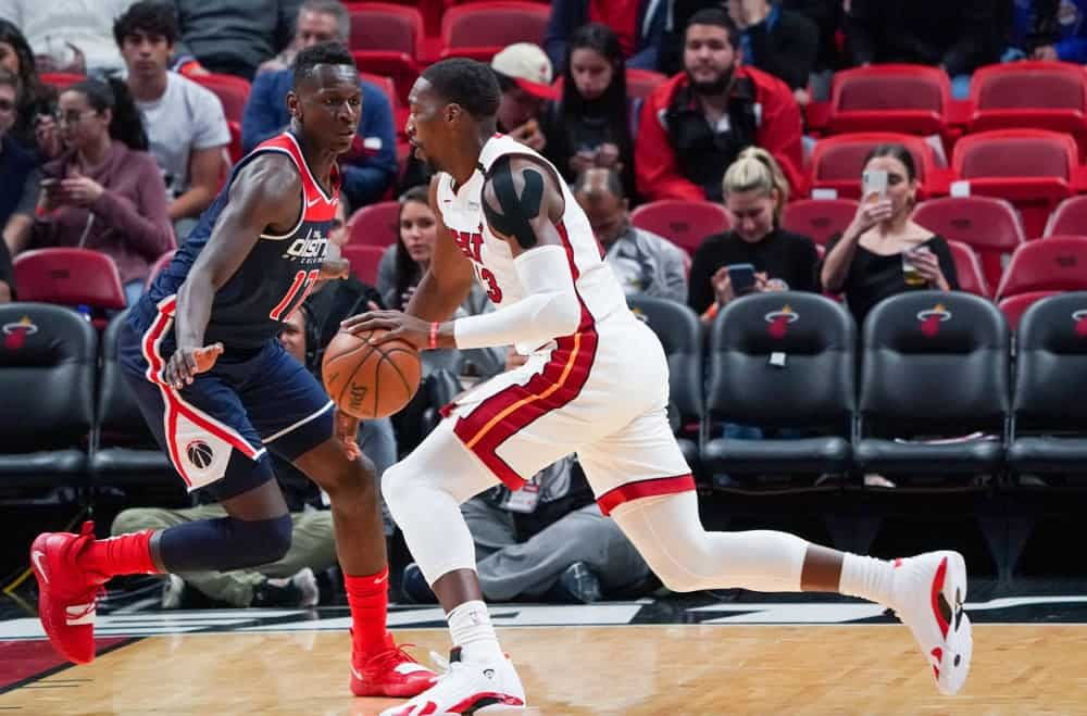 NBA DFS Picks Yahoo Cup daily fantasy basketball strategy, advice, Awesemo projections and predictions for May 7 with Bam Adebayo