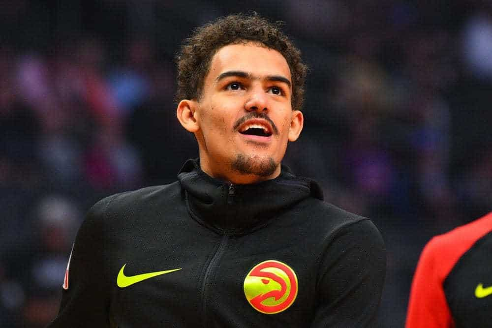 Atlanta Hawks guard Trae Young used the viral clip of Isiah Thomas being left off of Team USA to describe his feeling with being left out
