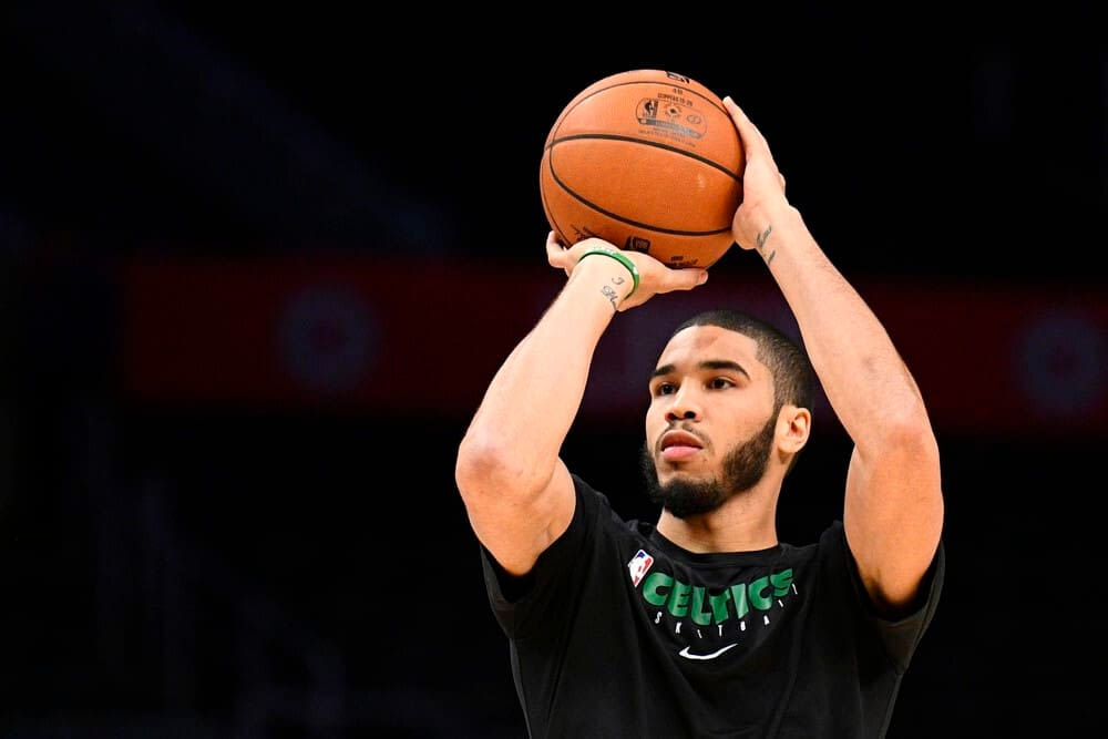 NBA betting picks player props Jayson Tatum odds for tonight with OVER 7.5 rebounds