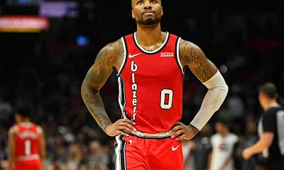 Portland Trail Blazers superstar Damian Lillard speaks on the team's quiet offseason thus far after making his intentions clear that he thinks the team needs more