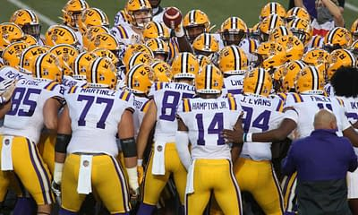 2021 LSU Tigers COllege football SEC Conference season preview depth chart fantasy football betting picks roster depth chart