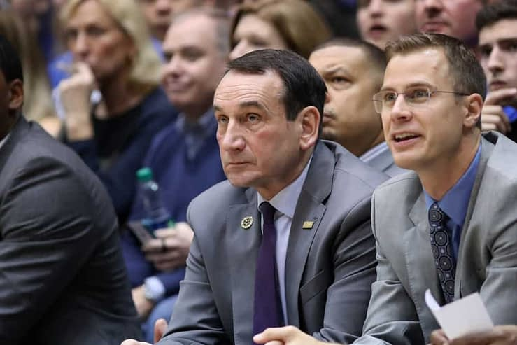 Mike Krzyzewski is retiring as Duke Blue Devils basketball head coach after the 2021-22 season, and from rumors swirling around the team, they might already have their replacement on hand. Jon Scheyer.
