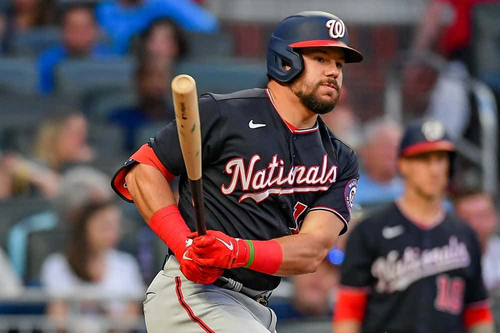 MLB DFS Picks. Daily fantasy baseball doubleheader of DraftKings + FanDuel shows on Friday 7/2 including Kyle Schwarber.