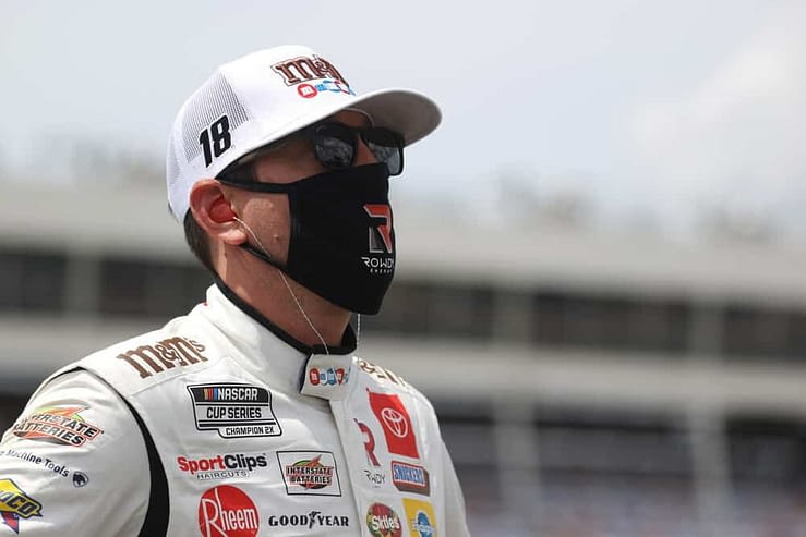 Free Toyota Owners 400 Cheat Sheet with DraftKings NASCAR DFS Picks from Awesemo's expert projections + ownership with Kyle Busch