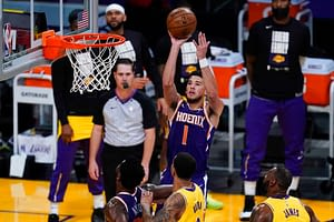 EMac gives his favorite NBA DFS picks for Yahoo, DraftKings + FanDuel daily fantasy basketball lineups, including Devin Booker | 6/20/21