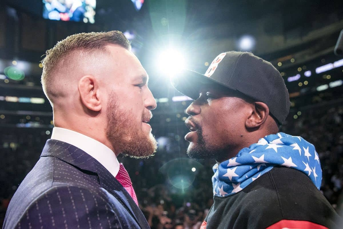 UFC superstar Conor McGregor continues to savagely mock Floyd Mayweather ahead of his exhibition fight with Youtuber Logan Paul