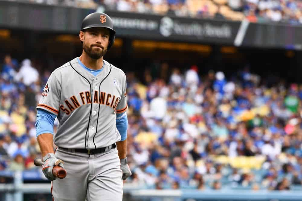 Former Giants OF Mac Williamson Sues team over concussion