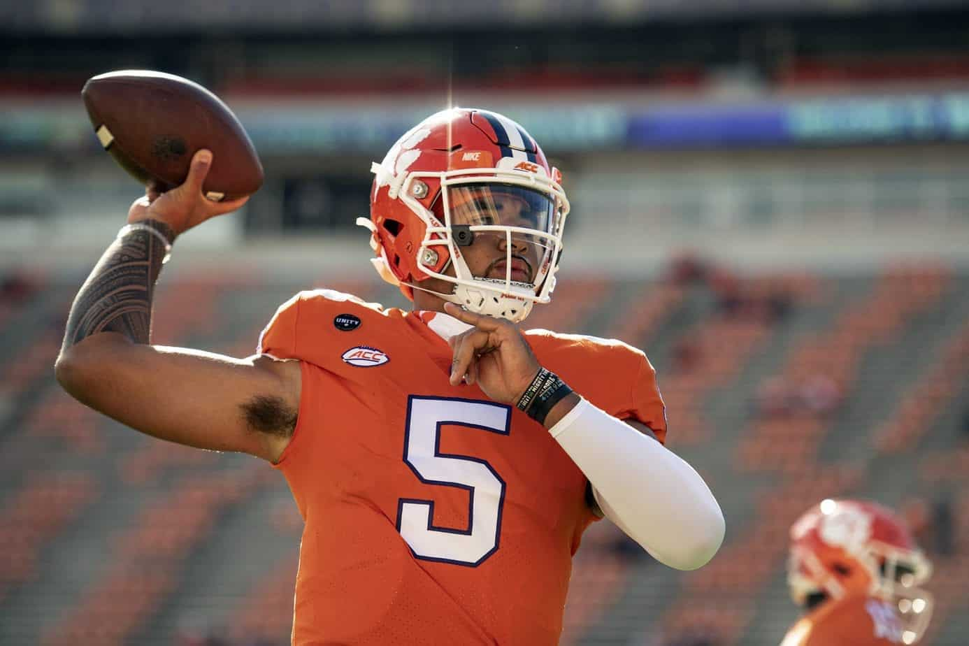 PrizePicks CFB College Football DFS props over/under D.J. Uiagalelei Clemson Saturday September 11 2021