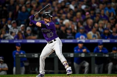 DraftKings MLB DFS cheatsheet for 8/10/20, picks like Trevor Story based on projections and ownership from the world's No. 1 DFS player.
