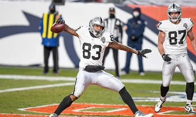 Yahoo NFL Picks DFS Daily fantasy football Week 7 lineup optimizer optimal football best free expert advice tips strategy Darren Waller stacks betting player props bets predictions odds lines